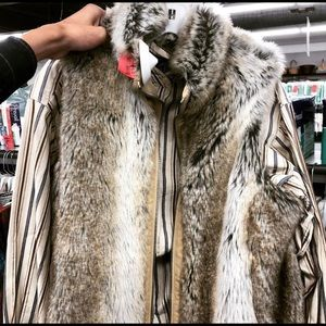 Other - Vintage Synthetic Fur with Flannel (Men's)